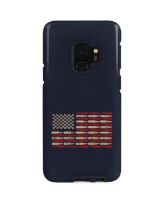 Blue Bullet American Flag Galaxy S9 Pro Case