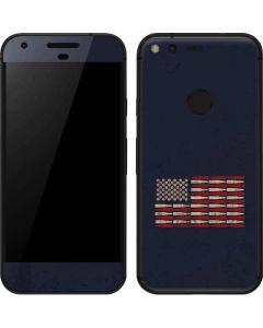 Blue Bullet American Flag Google Pixel Skin