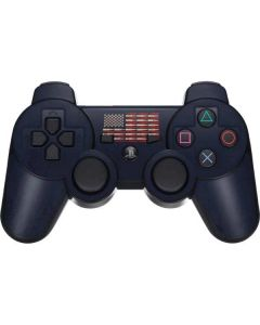 Blue Bullet American Flag PS3 Dual Shock wireless controller Skin
