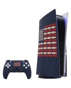 Blue Bullet American Flag PS5 Bundle Skin