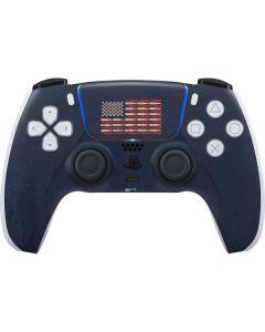 Blue Bullet American Flag PS5 Controller Skin