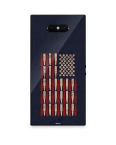 Blue Bullet American Flag Razer Phone 2 Skin