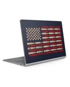 Blue Bullet American Flag Surface Book 2 15in Skin