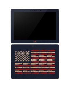 Blue Bullet American Flag Surface Go Skin
