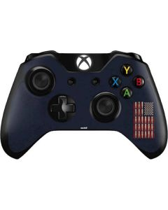 Blue Bullet American Flag Xbox One Controller Skin