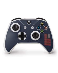 Blue Bullet American Flag Xbox One S Controller Skin
