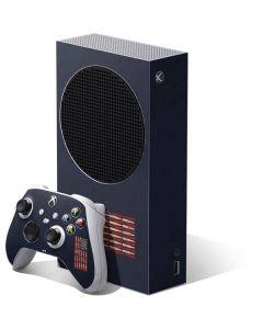 Blue Bullet American Flag Xbox Series S Bundle Skin