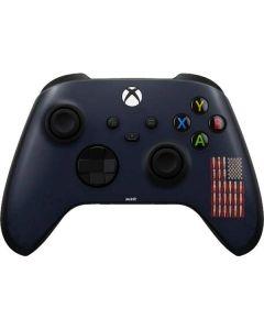 Blue Bullet American Flag Xbox Series X Controller Skin