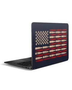 Blue Bullet American Flag Zenbook UX305FA 13.3in Skin