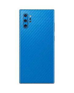 Blue Carbon Fiber Galaxy Note 10 Plus Skin