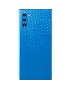 Blue Carbon Fiber Galaxy Note 10 Skin