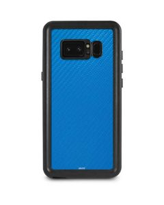 Blue Carbon Fiber Galaxy Note 8 Waterproof Case