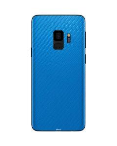 Blue Carbon Fiber Galaxy S9 Skin