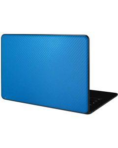 Blue Carbon Fiber Google Pixelbook Go Skin