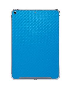 Blue Carbon Fiber iPad 10.2in (2019-20) Clear Case