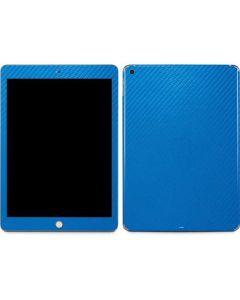 Blue Carbon Fiber Apple iPad Skin