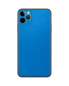 Blue Carbon Fiber iPhone 11 Pro Max Skin