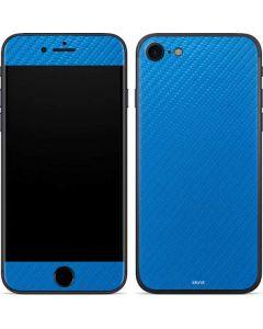 Blue Carbon Fiber iPhone SE Skin