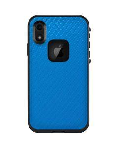 Blue Carbon Fiber LifeProof Fre iPhone Skin
