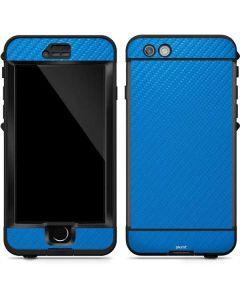 Blue Carbon Fiber LifeProof Nuud iPhone Skin