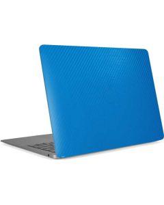 Blue Carbon Fiber Apple MacBook Air Skin