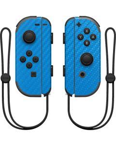Blue Carbon Fiber Nintendo Joy-Con (L/R) Controller Skin