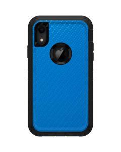 Blue Carbon Fiber Otterbox Defender iPhone Skin