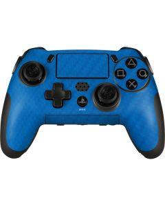 Blue Carbon Fiber PlayStation Scuf Vantage 2 Controller Skin