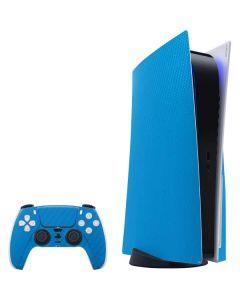 Blue Carbon Fiber PS5 Bundle Skin