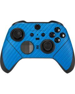 Blue Carbon Fiber Xbox Elite Wireless Controller Series 2 Skin