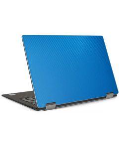 Blue Carbon Fiber Dell XPS Skin