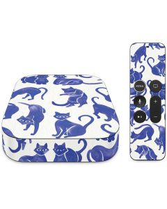 Blue Cats Apple TV Skin