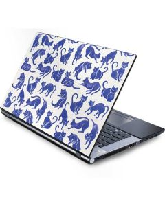 Blue Cats Generic Laptop Skin