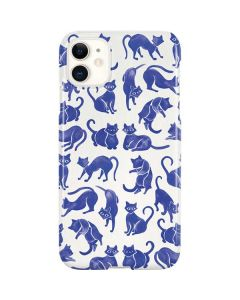 Blue Cats iPhone 11 Lite Case