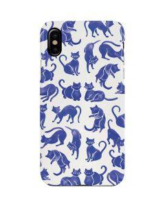 Blue Cats iPhone XS Max Lite Case
