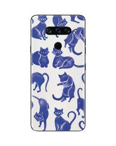Blue Cats LG V40 ThinQ Skin
