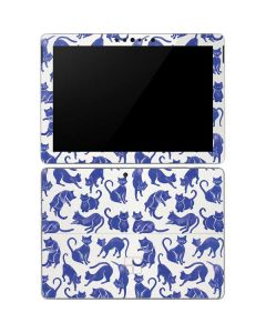 Blue Cats Surface Go Skin
