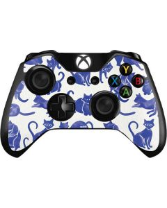 Blue Cats Xbox One Controller Skin