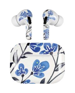 Blue Cherry Blossoms Apple AirPods Pro Skin