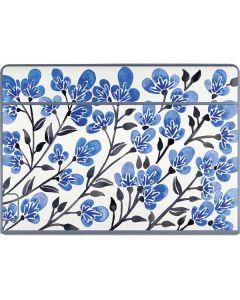 Blue Cherry Blossoms Galaxy Book Keyboard Folio 12in Skin