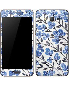 Blue Cherry Blossoms Galaxy Grand Prime Skin