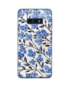Blue Cherry Blossoms Galaxy S10e Skin