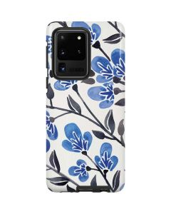 Blue Cherry Blossoms Galaxy S20 Ultra 5G Pro Case