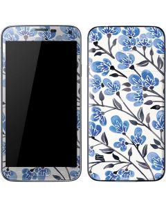 Blue Cherry Blossoms Galaxy S5 Skin
