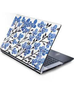 Blue Cherry Blossoms Generic Laptop Skin