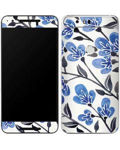 Blue Cherry Blossoms Google Nexus 6P Skin