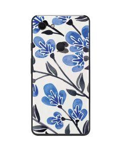 Blue Cherry Blossoms Google Pixel 3 XL Skin
