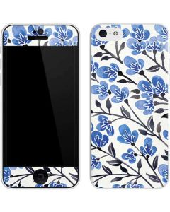 Blue Cherry Blossoms iPhone 5c Skin