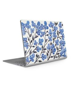 Blue Cherry Blossoms Surface Book 2 13.5in Skin