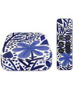 Blue Garden Apple TV Skin